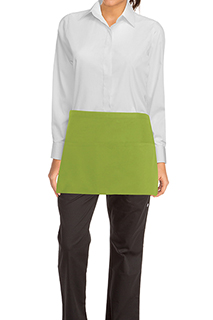 Waist Apron: Lime - side view