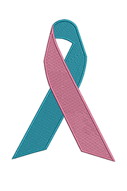 Breast Cancer Awareness Embroidery Ribbons