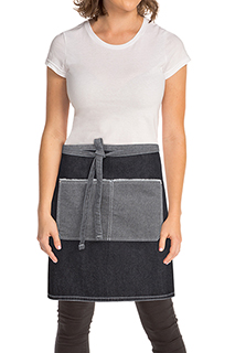 Bronx Half Bistro Apron - side view