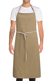 Austin Chefs Bib Apron - side view