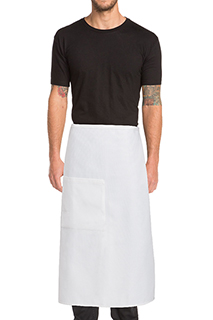 Waffle Weave Bistro Apron - side view