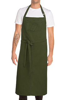 Rockford Chefs Bib Apron - side view