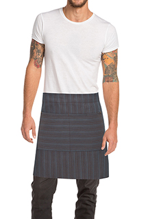 Brooklyn Half Bistro Apron - side view