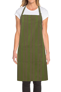 Phoenix Bib Apron - side view