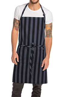 Chesapeake Bib Apron - side view