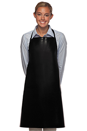 No Pocket Vinyl Bib Apron