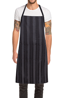 Presidio Bib Apron - side view