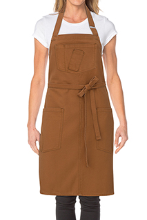 Rockford Bib Apron - side view