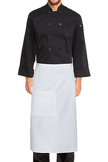 Bistro Apron: Solid Colors - side view