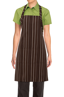 Striped Bib Aprons - side view