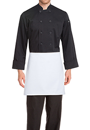 Four-Way Apron: White