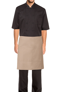 Half Bistro Aprons - side view