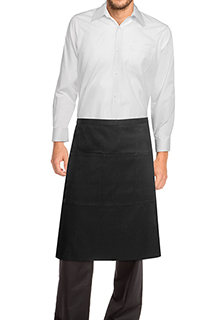 Reversible Three Pocket Apron - side view