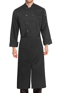 Slit Bistro Apron - side view