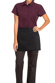 Square Waist Aprons - side view