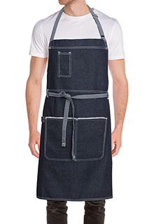 Bronx Bib Apron - side view