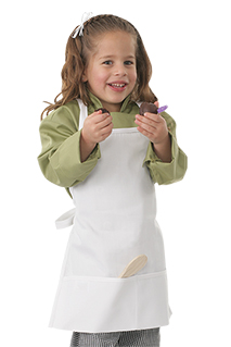 Kids Chef Apron - side view