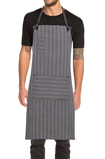 Brooklyn Bib Apron - side view