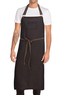 Boulder Chefs Bib Apron - side view