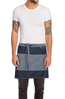 Manhattan Half Bistro Apron - side view