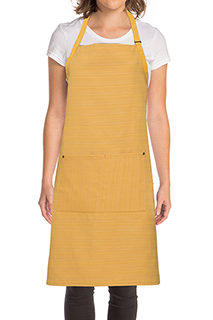 Harlem Bib Apron - side view