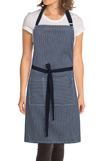 Portland Bib Apron - side view