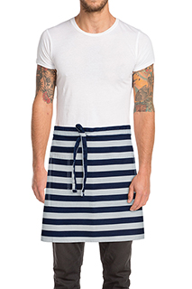 Chesapeake Half Bistro Apron - side view