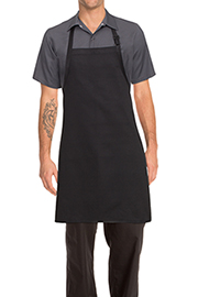 Bib Apron: No Pocket